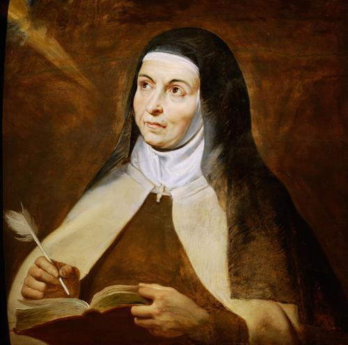 OCTOBER 15 FEAST DAY OF St. Teresa of Avila - Peter Paul Rubens