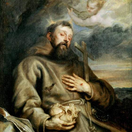 October 4 St Francis of Assisi