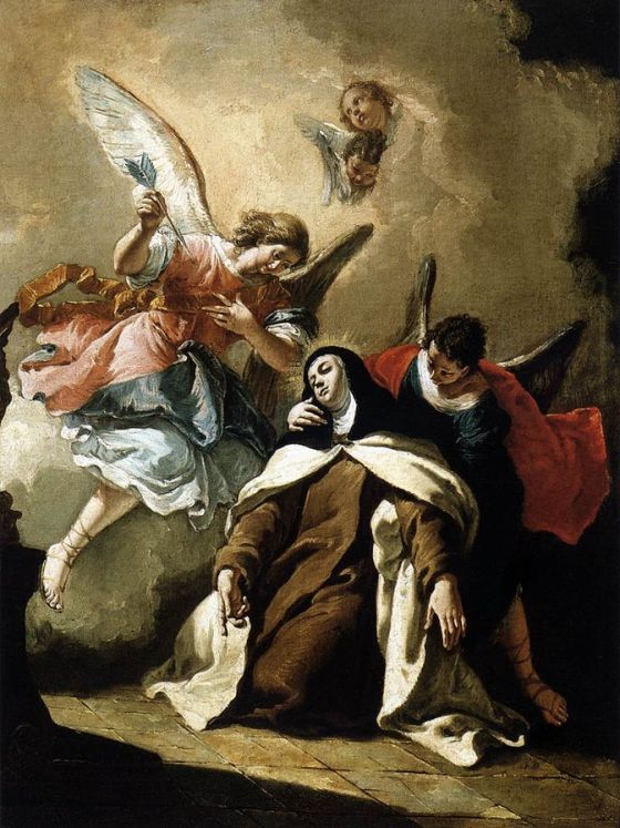 The Ecstasy of St Teresa of Avila
