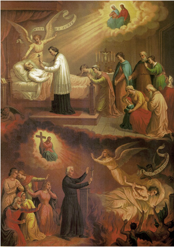 Death -Twenty-Second Sunday After Pentecost - straits and anguish of dying christians