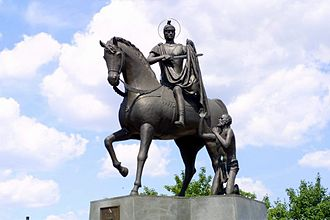 November 11 - Monument to Saint Martin of Tours in Odolanów, Poland