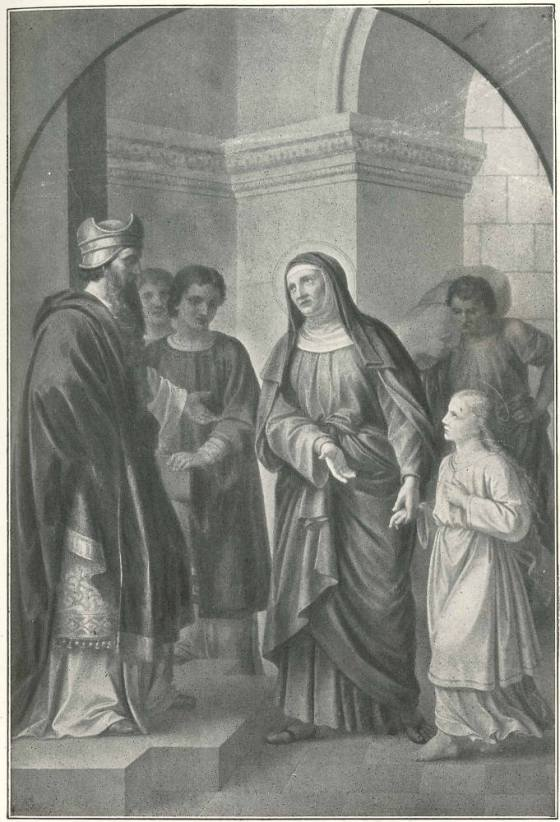 November 21 THE PRESENTATION OF THE BLESSED VIRGIN MARY AT THE TEMPLE