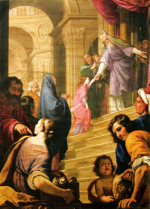 Presentation of Mary - Alfonso_boschi,_presentazione_di_maria_al_tempio