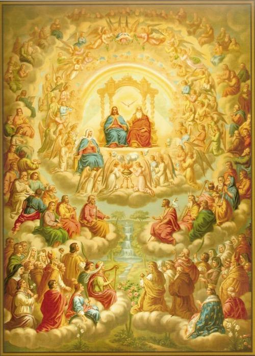 saints in heaven - Holy Helpers