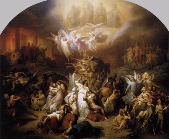 Souls in Purgatory - kalbauch_Jerusalem destruction-Titus