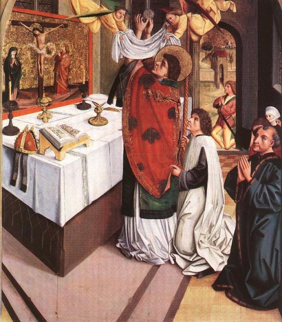 St. Martin of Tours at Mass