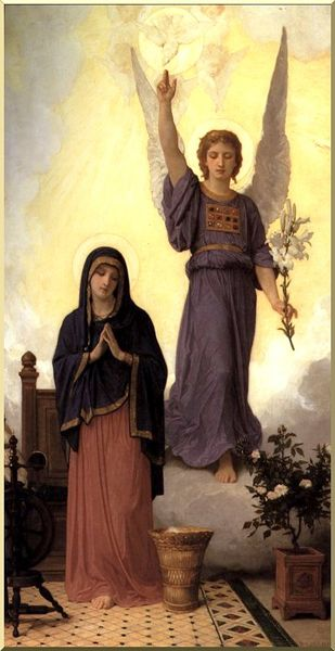 Advent 1 - annunciation