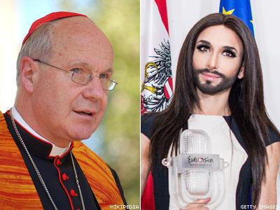 Christoph Schonborn and Conchita Wurst