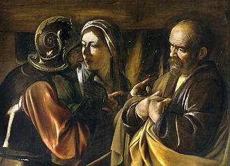 The Denial of Saint Peter (Caravaggio), 1610