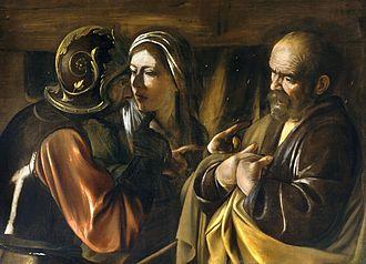 The Denial of Saint Peter (Caravaggio), 1610
