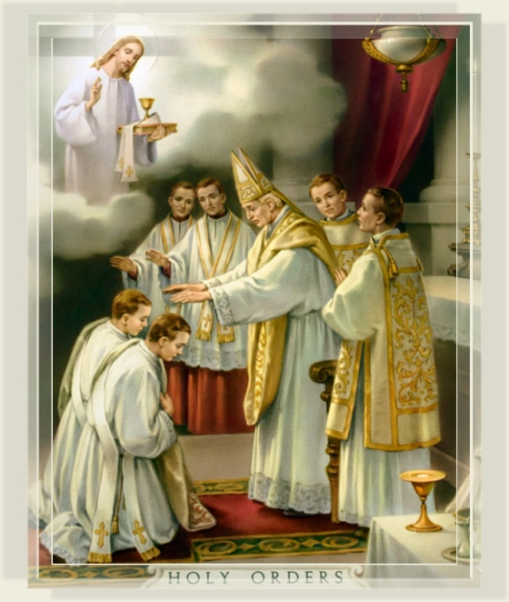 Christ and His Apostles chose only men to be priests, only men can validly become priests.