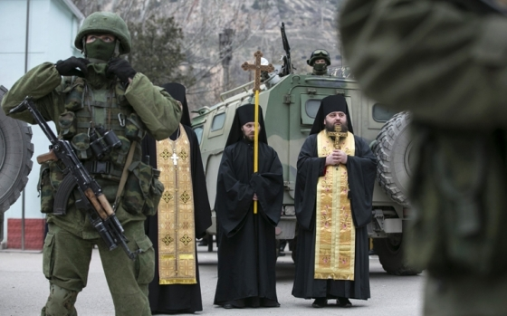 Ukraine's Greek Catholic Church equips military