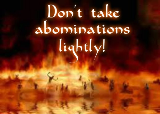 Abomination Of God's Divine Laws