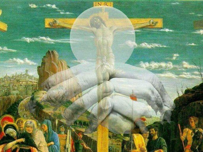 Ecce agnus Dei, ecce qui tollit peccatum mundi. Behold the Lamb of God, behold him who taketh away the sin of the world.