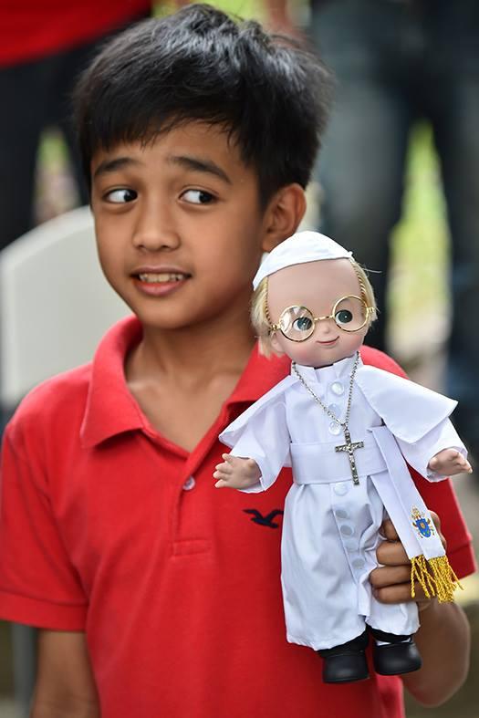Bergoglio Doll!!