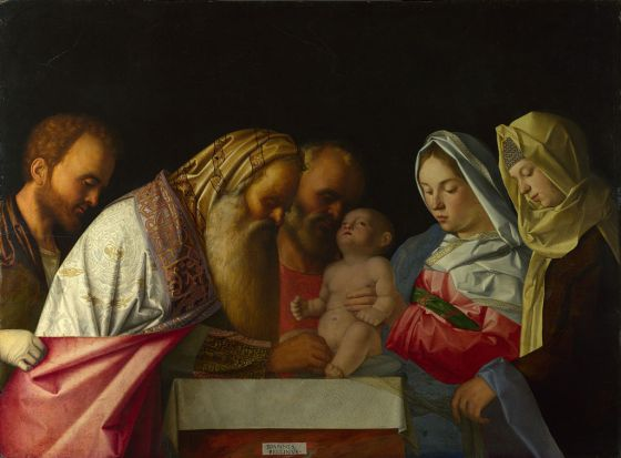 Jan 1 Circumcision 1500, Giovanni Bellini