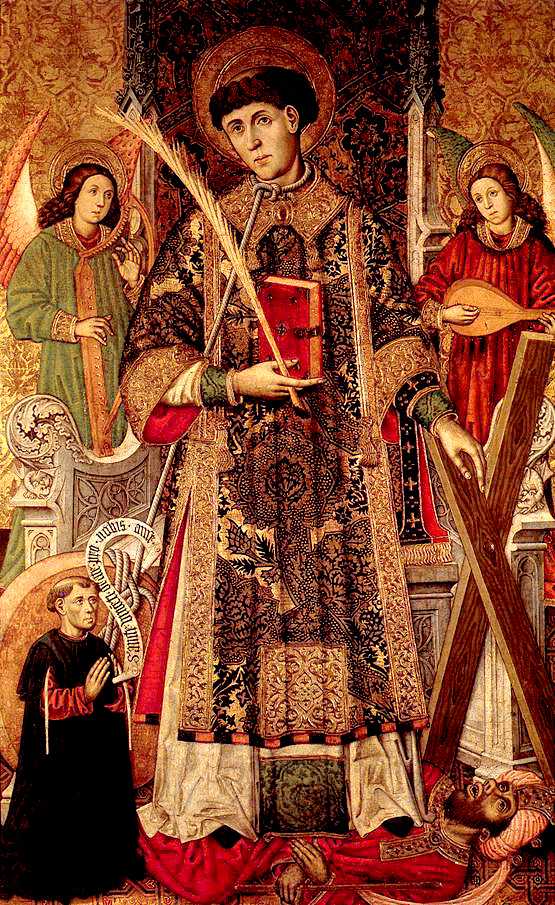 January 22 - St Vincent of Saragossa anonymous painting XVI century