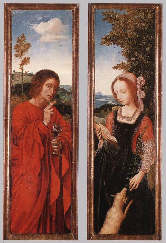St. John the Baptist and St Agnes