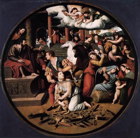Martyrdom of St Agnes
