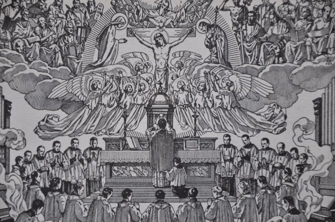 MASS PREPARATION - I will go in unto the Altar of God. Unto God who giveth joy in my youth.