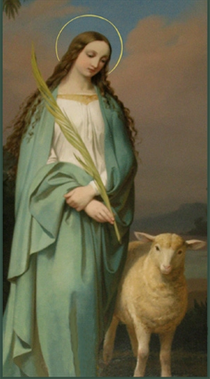 Feast Of St. Agnes, Virgin And Martyr