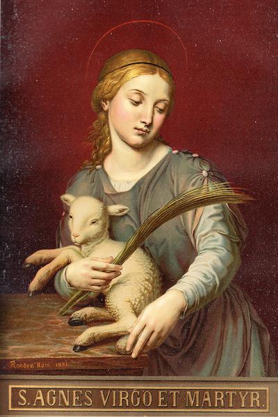 St. Agnes, V. M.