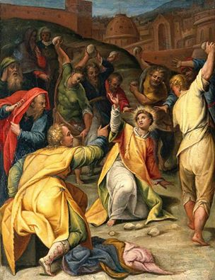 st stephen stoned to death