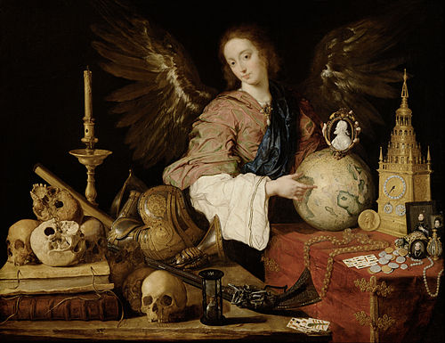 ALL IS VANITY - Vanitas by Antonio de Pereda y Salgado