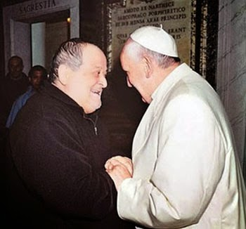 Jorge the Destroyer - Volpi meets with Pope Francis the day the seminary was closed