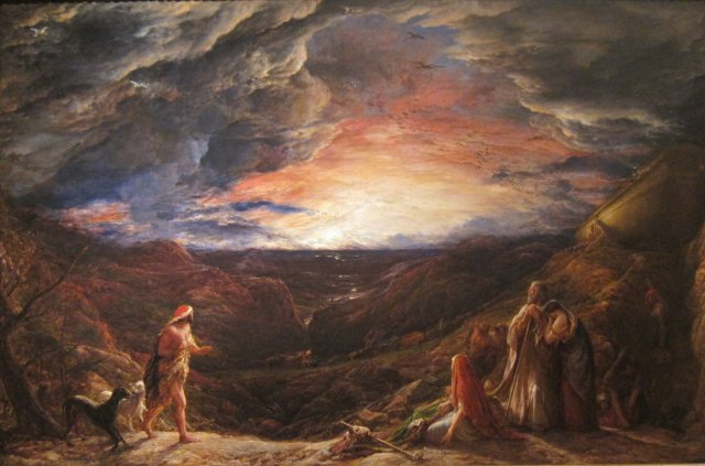 Noah, The Eve of the Deluge'- John Linnell, 1848