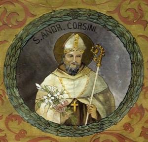 St Andrew Corsini, Bishop & Confessor