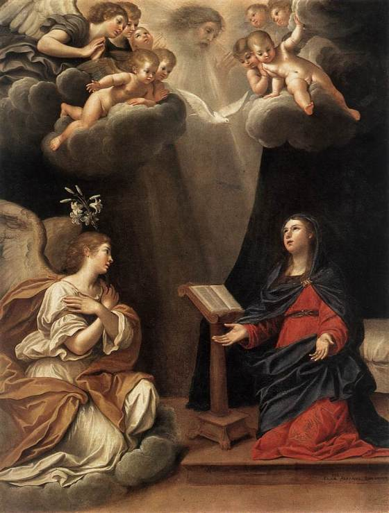 BLESSED MOTHER'S HUMILITY - Annunciation FAlbani
