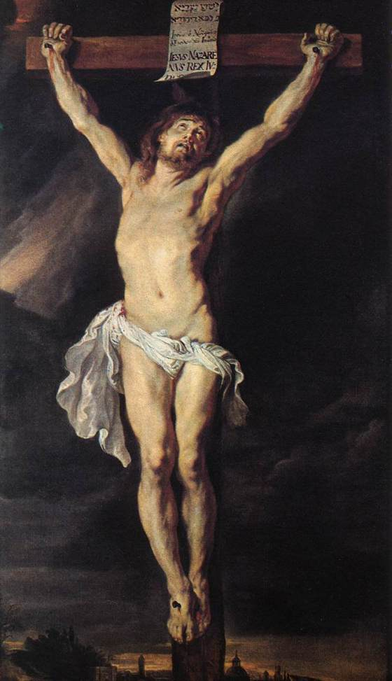 Lent  The Crucified Christ - Peter Paul Rubens