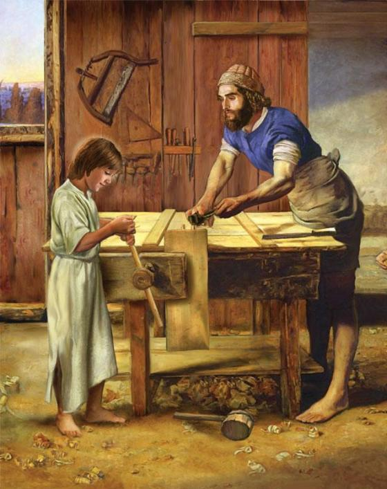 Novena to St Joseph - Third Day - Jesus was subject to them - Joseph the Worker michael_adams