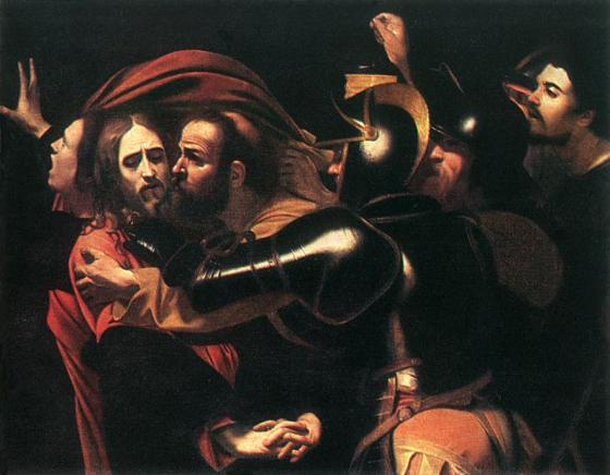 Taking of Christ - by Caravaggio