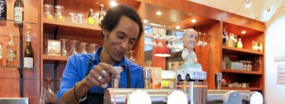 Pope Francis bobblehead takes up residence on the beer taps at Bar Cana - Catholic-Lille-bar- (1)