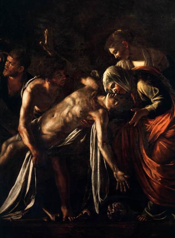 The raising of Lazarus -  caravaggio