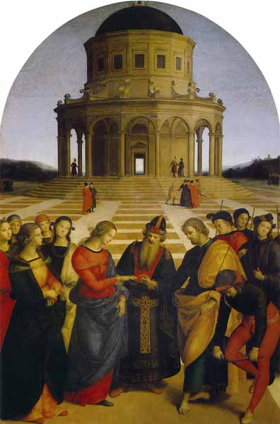 Raphael - Marriage of the Virgin