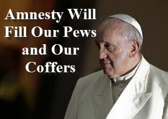 Anti-Pope Bergoglio  enforcing his Marxist Agenda on the nations...