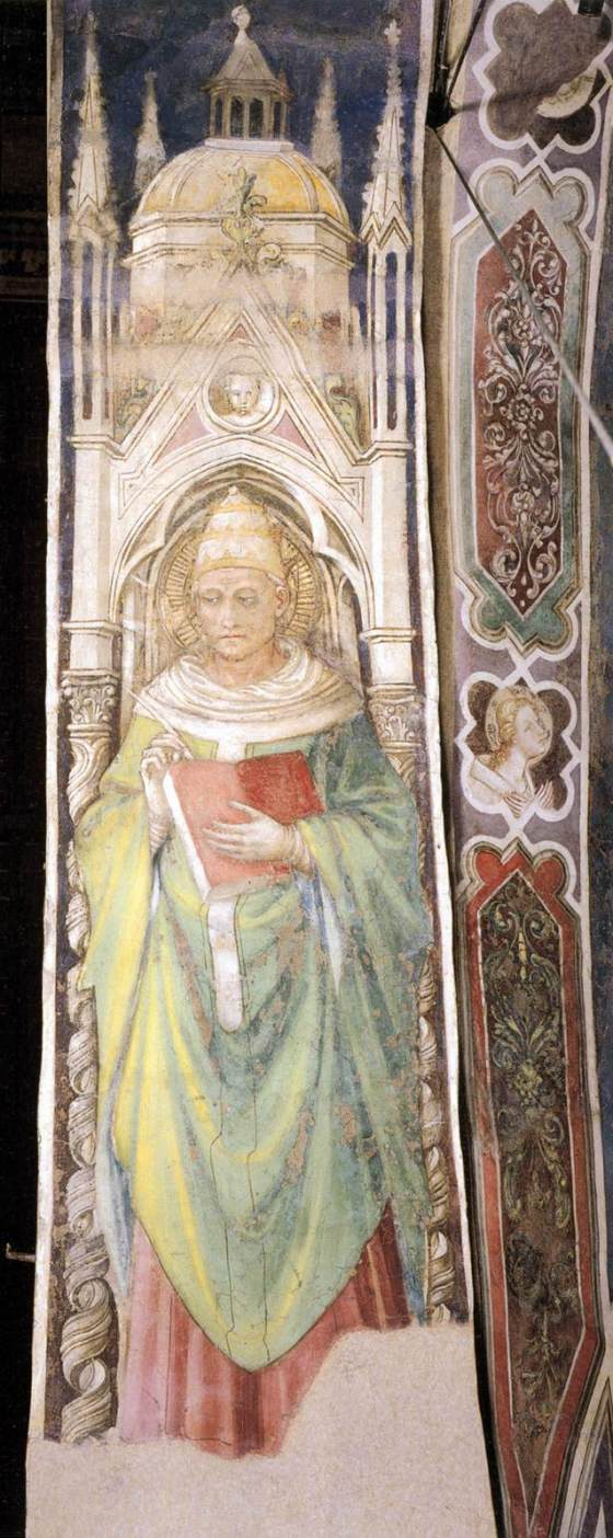 St. Gregory the Great - BICCI DI LORENZO (1447)