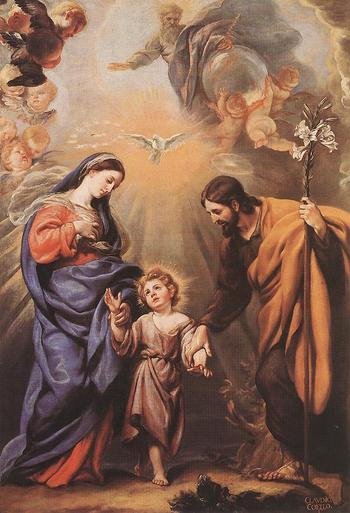 ST JOSEPH FOSTER FATHER OF JESUS