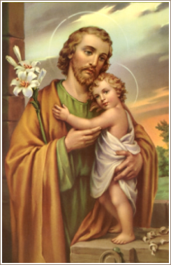 St Joseph Patron of the Catholic Church