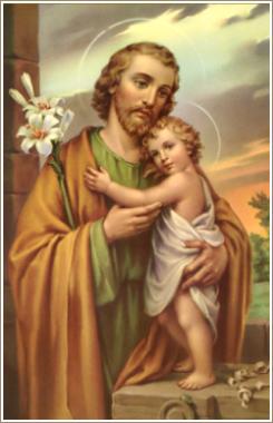 St Joseph Patron of the Catholic Church