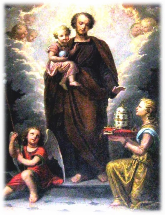 ST JOSEPH PATRON OF THE CHURCH Unknown, 19th Century, Italy