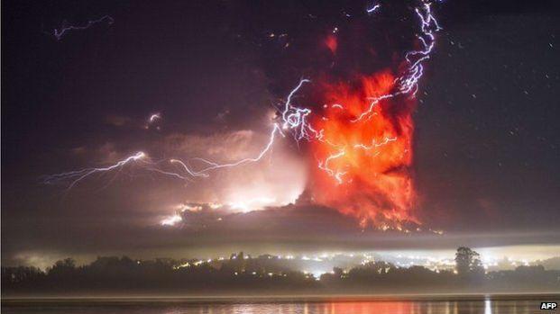 Chile Calbuco volcano