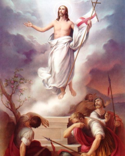 Christ has risen! Indeed he has risen - Cristo-risorto