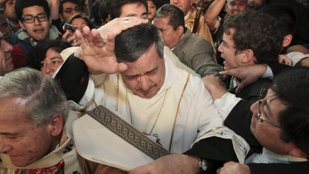 Disgraced bishop Barros