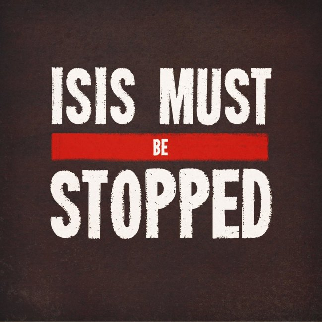 ISIS MUST BE STOPPED!!!