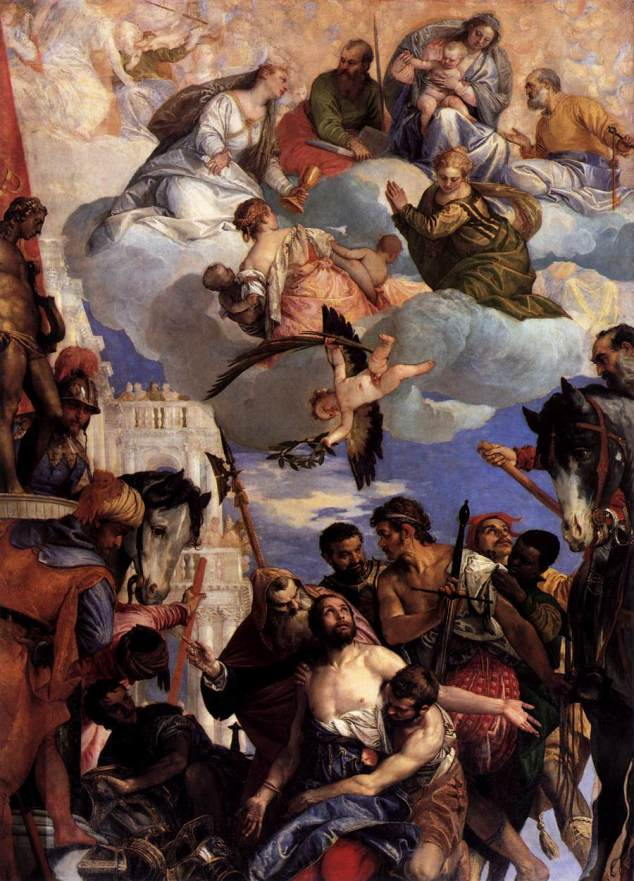 Martyrdom of St George - VERONESE, Paolo c. 1564 - Oil on canvas