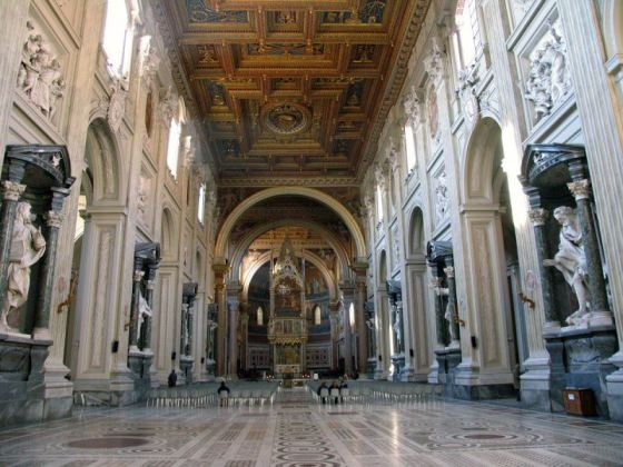 November 9 feast  Dedication of Achbasilica of St. John Lateran,  Orginally called St. Savior